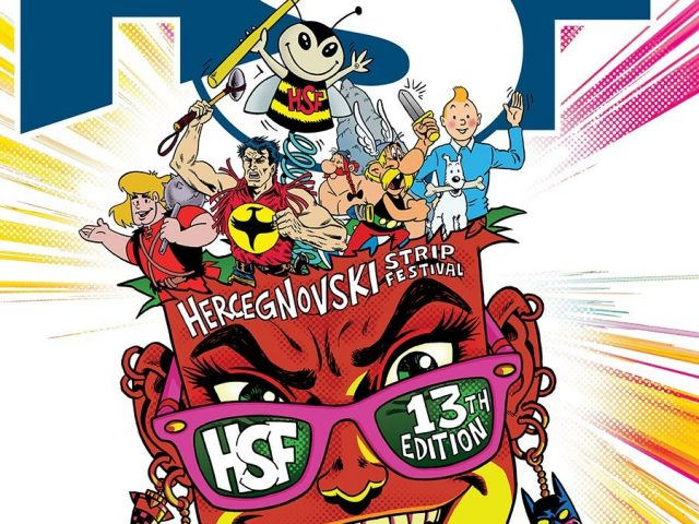 HSF-Šest dana, deset lokacija i 50 najvećih strip autora današnjice