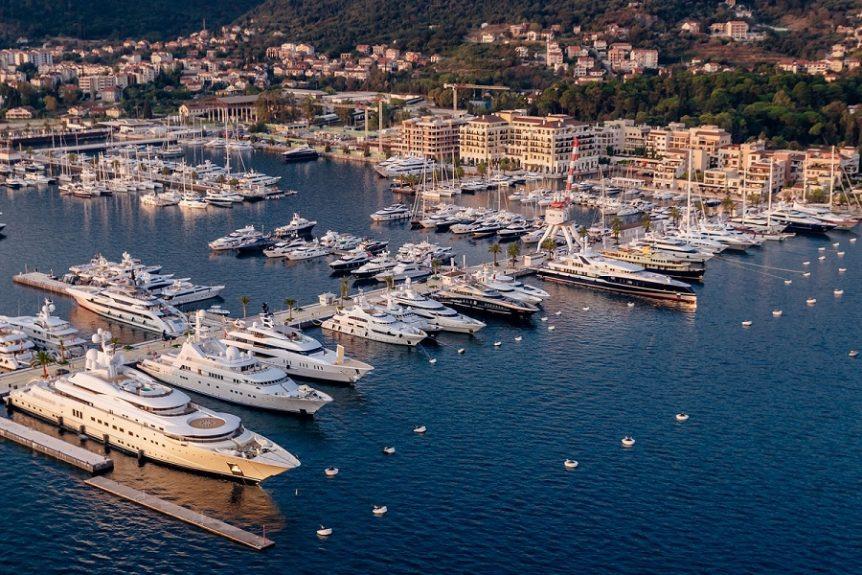 Porto Montenegro na septembarskim sajmovima nautike