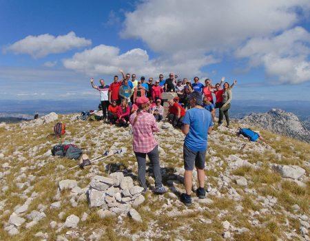 Orjen okupio ljubitelje prirode iz Tivta, Šibenika, Dubrovnika, Trebinja…