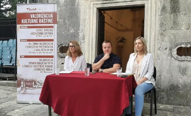 Glavočić: 16.000 eura za valorizaciju kulturne baštine Tivta
