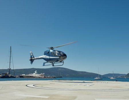 Porto Montenegro uredio prvi zvanični helipad u Tivtu