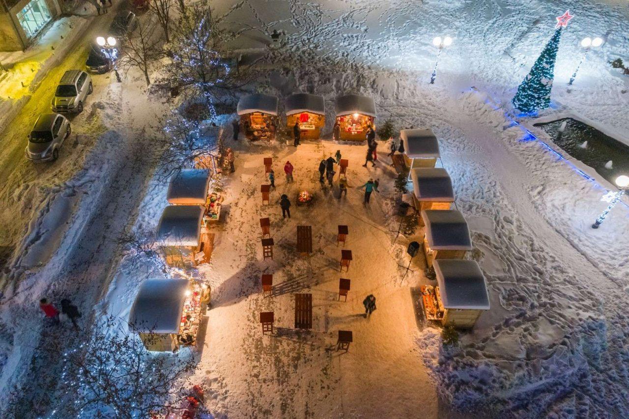 U gradu na Tari Božićni bazar i klizalište na trgu