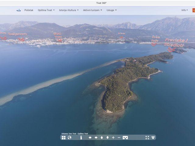 Upoznajte grad bolje kroz virtuelnu šetnju Tivtom