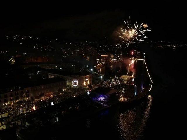 Preko 60.000 posjetilaca dočekalo Novu na trgovima u Crnoj Gori