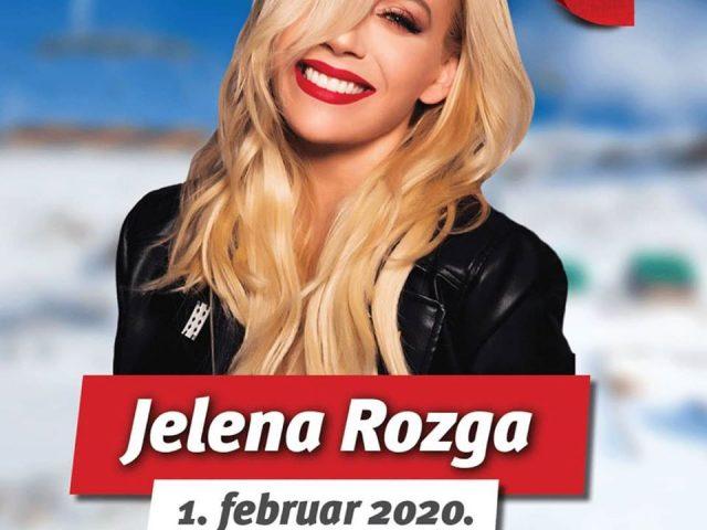 Žurka na snijegu: Koncert Jelene Rozge na skijalištu Kolašin 1600!