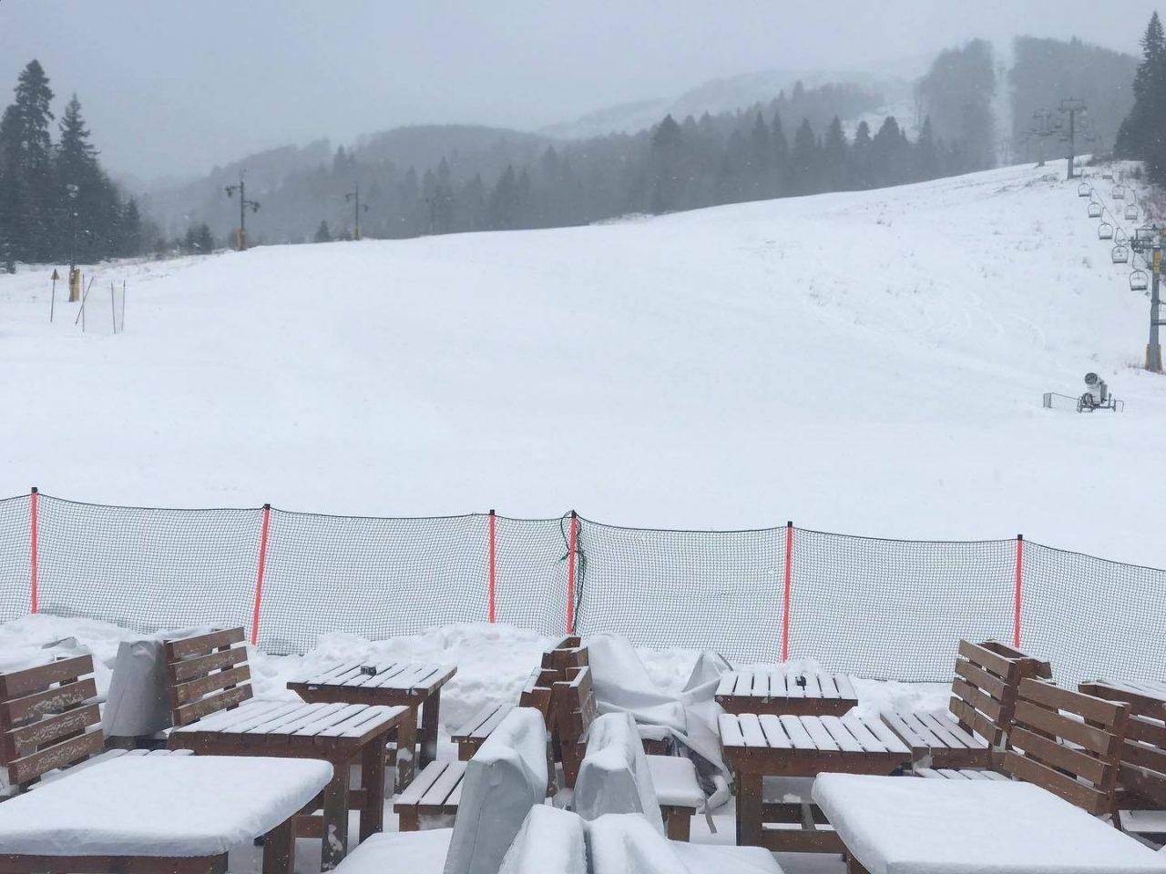 Vikend za skijanje: Visina snijega po gradovima
