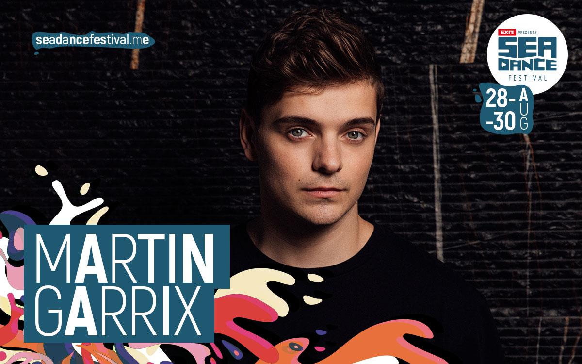 Vodeći svjetski DJ Martin Garrix predvodi program Sea Dance Festivala!
