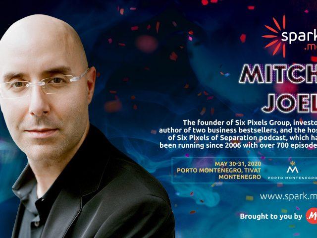 Mič Džoel novi glavni govornik na Spark.me
