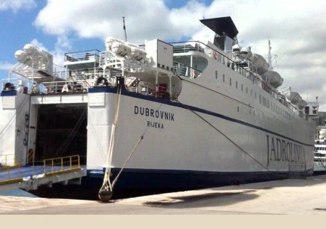 Bar i Bari i ove godine spajaće brod Dubrovnik