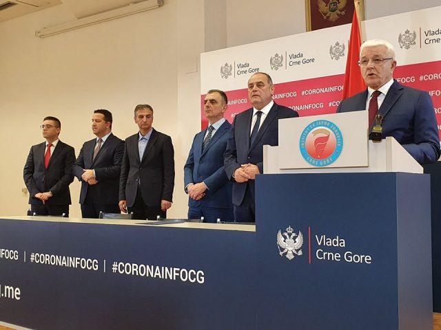 Potvrđena prva dva slučaja koronavirusa u Crnoj Gori