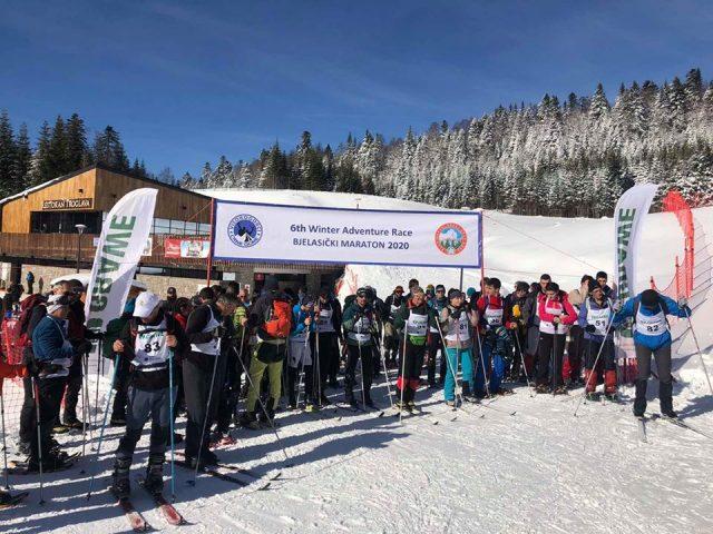 Skijama preko sniježne ljepotice: Ko je osvojio šesti Bjelasički maraton?