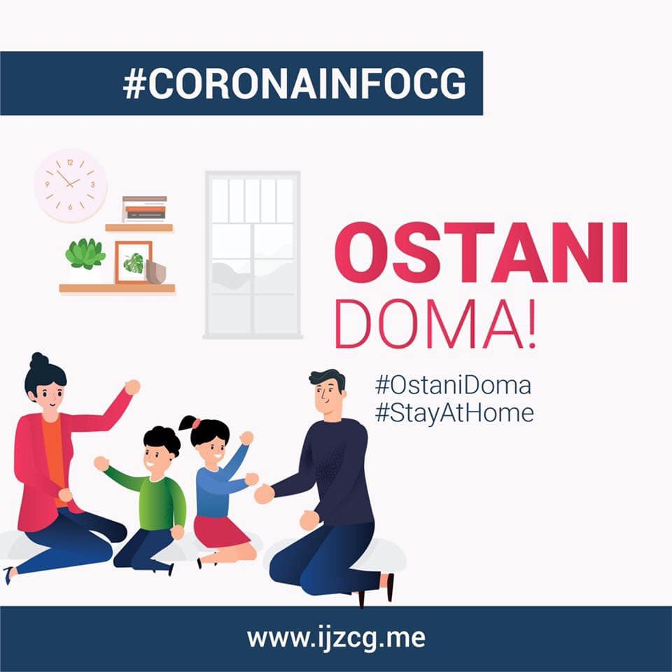 U CG registrovano 29 slučajeva koronavirusa