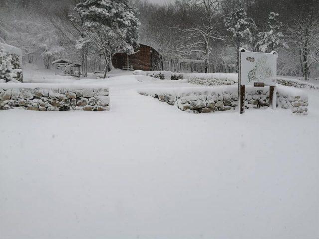 Na Orjenu danas 20 centimetara snijega