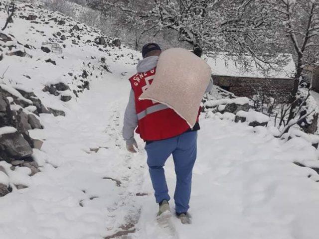 Pomoć stigla i u snijegom prekriveno zaleđe i Park prirode Orjen