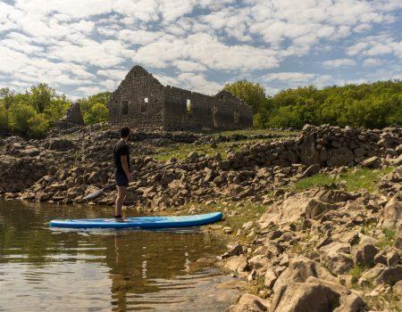 Doživite Slano jezero: Jeste li za paddleboarding?