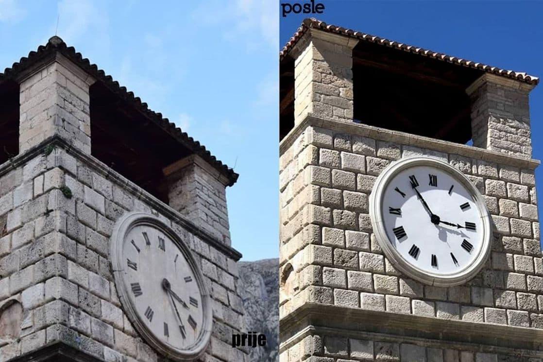 Završena rekonstrukcija Sat kule u Kotoru