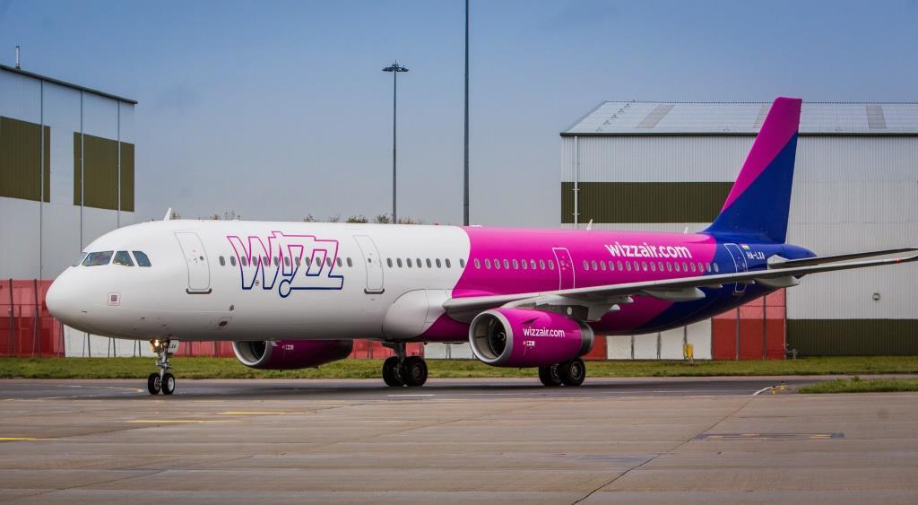 Wizz Air od avgusta uvodi liniju Dortmund-Podgorica, otvara i bazu u Sankt Peterburgu