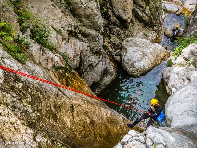 Kanjon Škurde iznad Kotora: Vajarsko djelo majke prirode