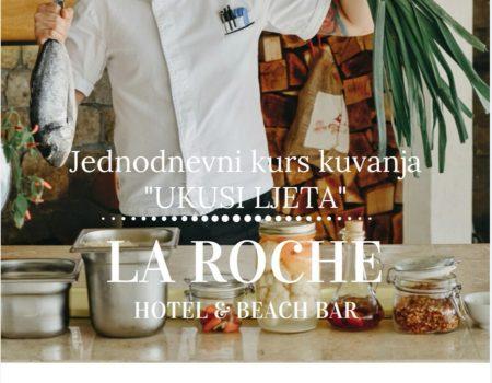 Ukusi ljeta u tivatskom hotelu La Roche