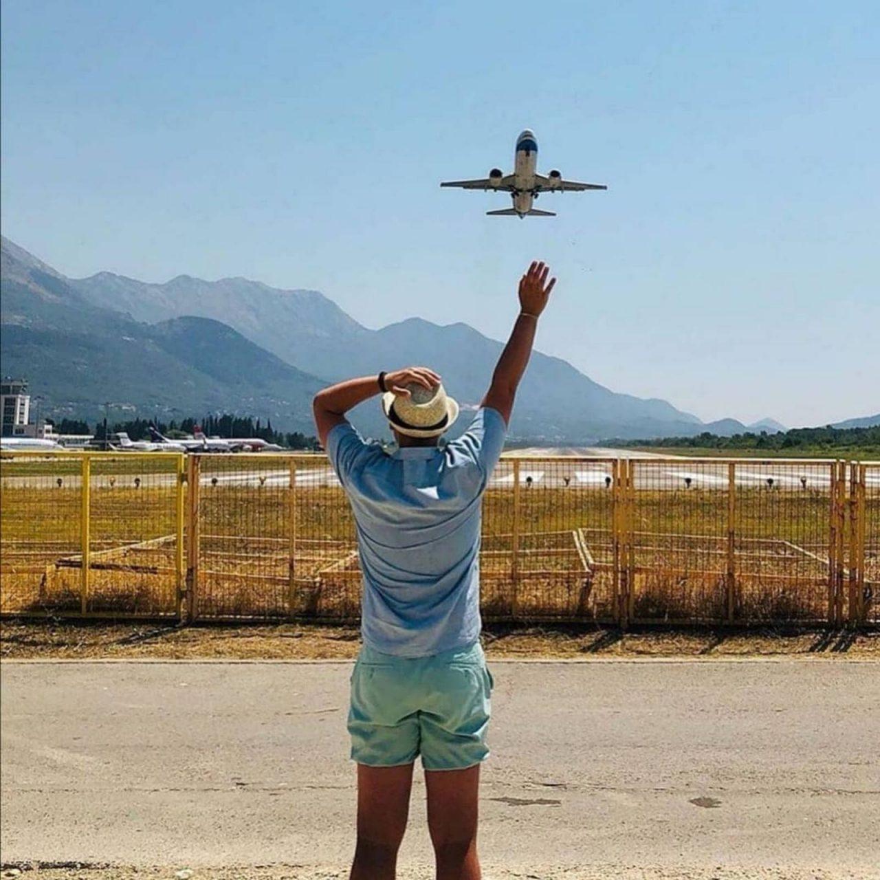 Aerodromi CG: Pogledajte listu aktivnih letova!