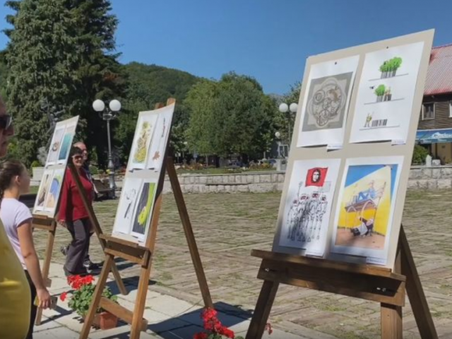 U Kolašinu održan Festival karikature