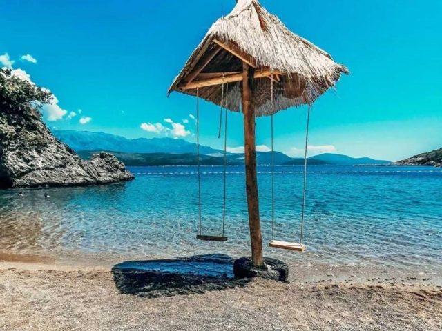Sweet secret of Tivat: Velja Spila beach