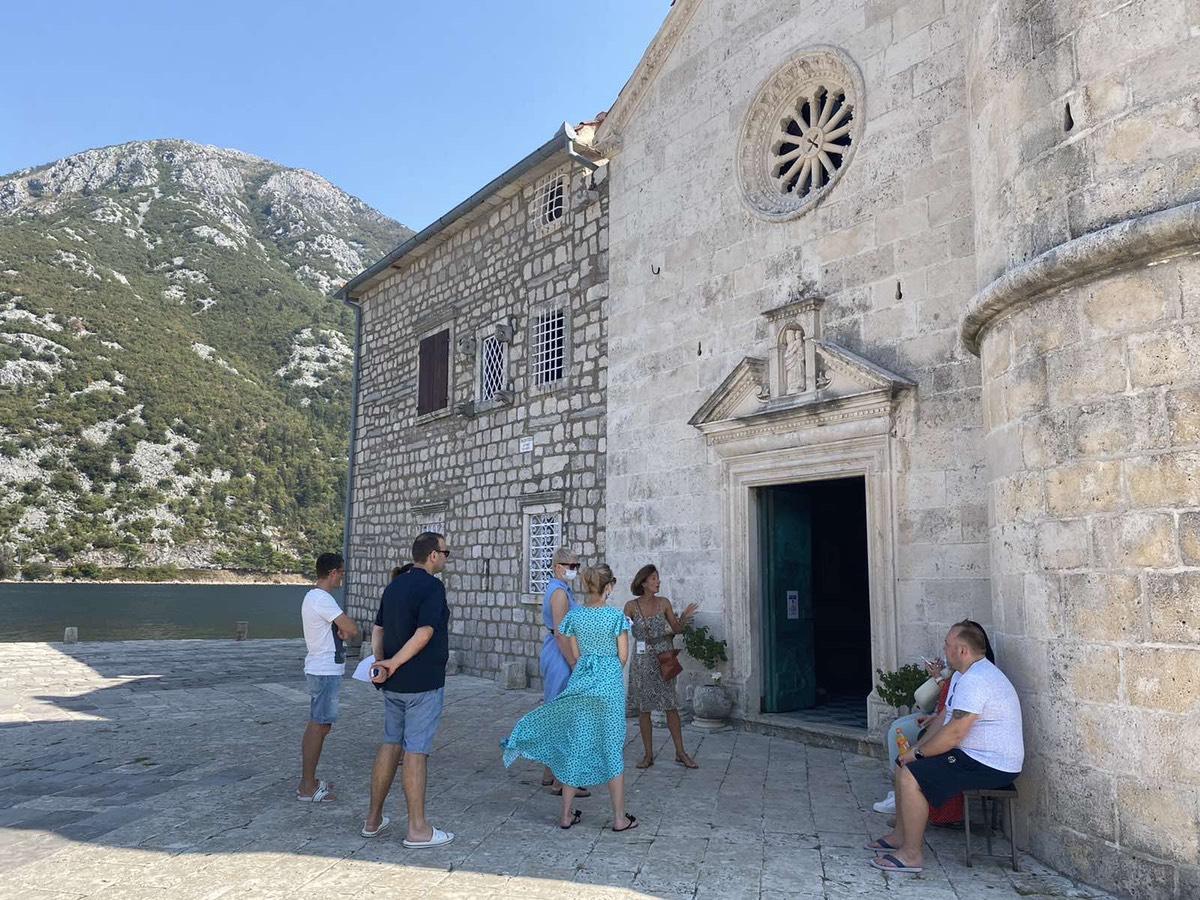 Turistički agenti iz Ukrajine posjetili Kotor, Perast i Bjelila