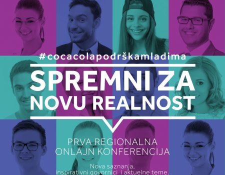 Prva online regionalna konferencija u okviru programa Coca-Cola podrška mladima