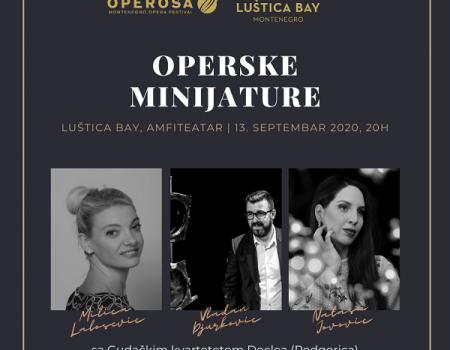 Operske minijature u Luštici Bay