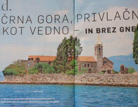 Slovenački novinar: Posjeta Crnoj Gori je vrijedna karantina