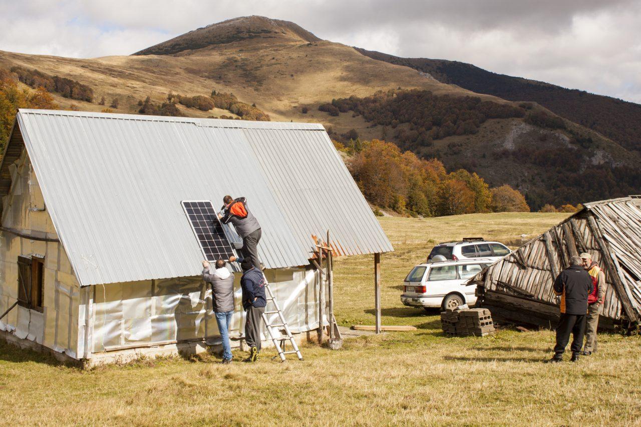 Solarni paneli katunima iz Berana, Bijelog Polja, Kolašina i Mojkovca