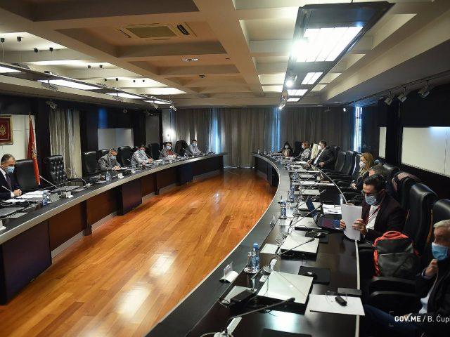 Epidemiološke mjere koje će važiti do 8. decembra u Crnoj Gori