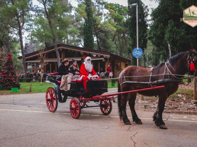 Jeste li za vožnju kočijama sa Djeda Mrazom?