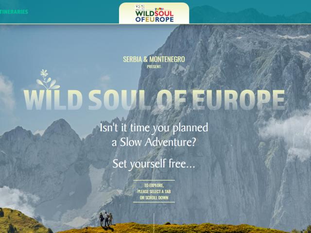 """Crna Gora i Srbija u zajedničkoj kampanji """"Wild Soul of Europe – Slow Adventure"""""""