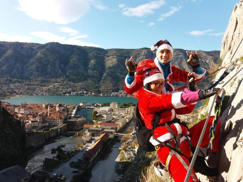Jeste li za novogodišnju Via Ferratu iznad Kotora?