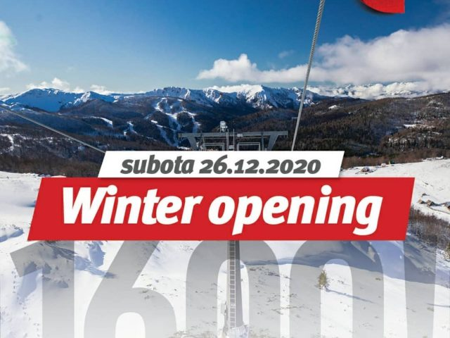 Kolašin 1600: Otvaranje zimske sezone, poklon vožnja žičarom