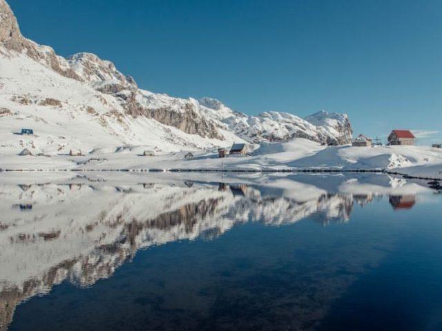 Sniježna magija Kapetanovog jezera