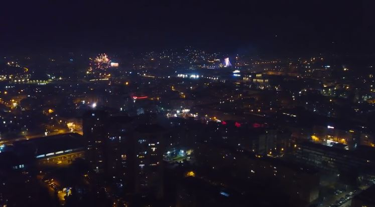 Doček 2021. u domovima: Pogledajte vatromet u Podgorici