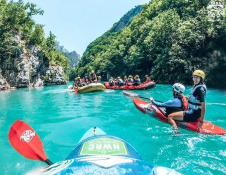 Vrijeme je za rafting najuzbudljivijom rijekom Evrope!