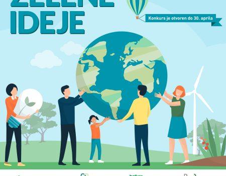 Otvoren konkurs za zelene ideje 2021