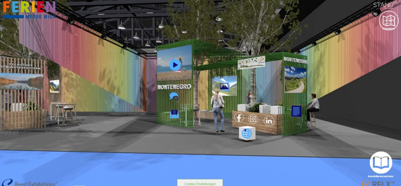 "NTOCG na sajmu ""Digital Ferien-Messe Wien Summer Edition"" u Beču"