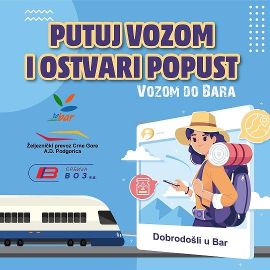 Vozom do Bara: Kupi kartu i ostvari popust