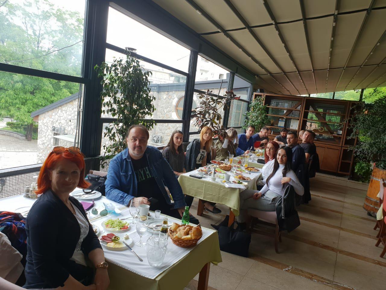 Novinari Bosne i Hercegovine u posjeti BIH