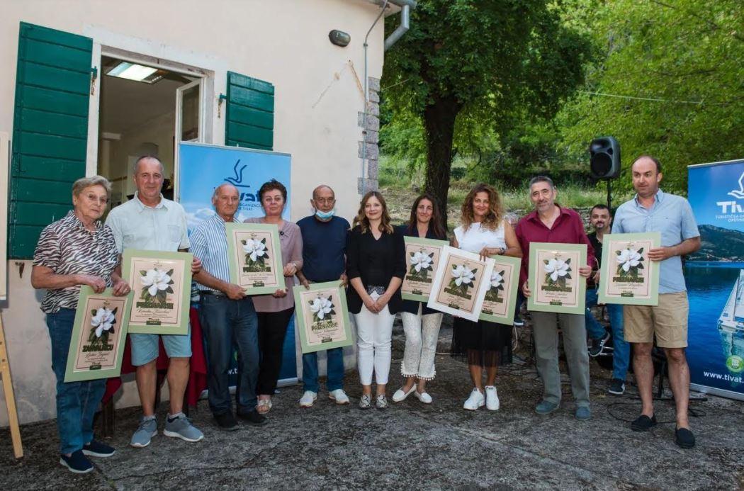 """TO Tivat: Dodijeljene nagrade """"Turistički cvijet 2021"""""""