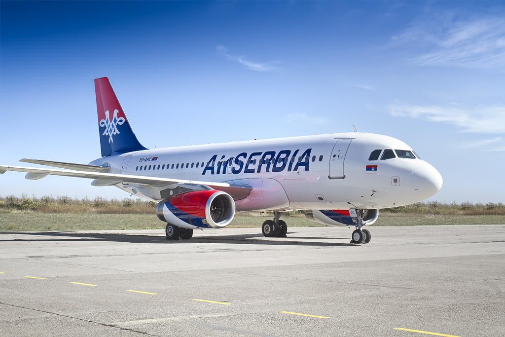 Air Serbia obnovila letove od Niša do Tivta