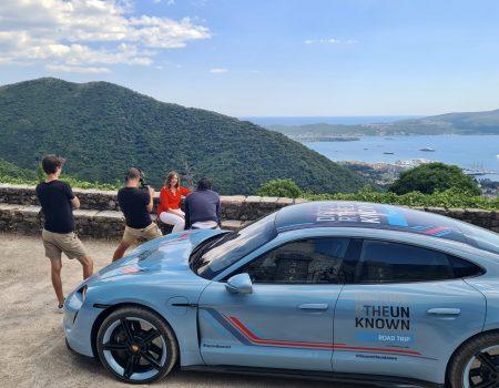 """Porsche snima emisiju """"Discover the Unknown"""" u Tivtu"""