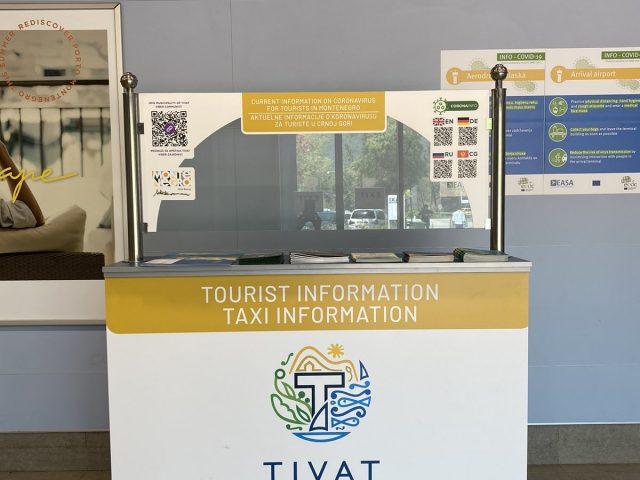 Otvoren turistički info punkt na Aerodromu Tivat