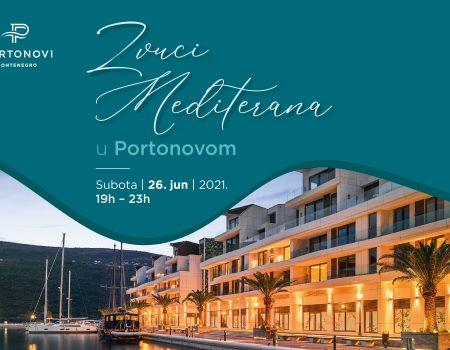 Zvuci Mediterana u subotu u Portonovom