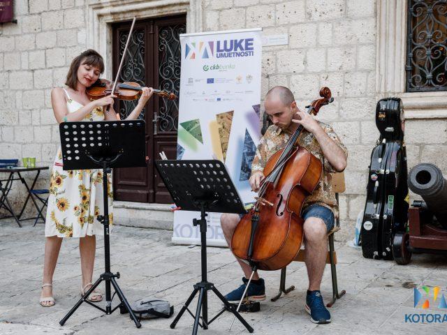 Luke umjetnosti i Muzika Boke u okviru KotorArta