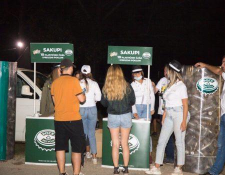 """""""Zeleni"""" Lake Fest: Na reciklažu poslato oko 18.000 plastičnih čaša"""